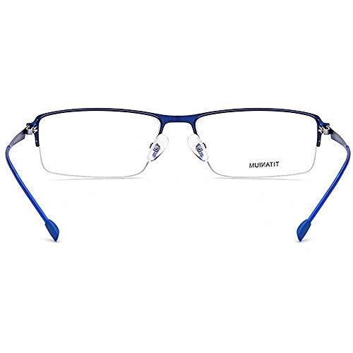 sans cadre lunettes soleil transparente de acétate carrée Flexible lunettes avec pola monture Alliage Wayfarer de soleil léger lunettes Bleu forme de alliage fibre titane lunettes lentille Nouvelles semi UwHq77