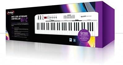 Teclado Maestro Midi (61 teclas Prodipe 61 C: Amazon.es ...