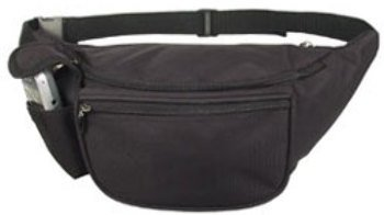 DDI 1474015 Fanny Pack -Black Case Of 48 by DDI