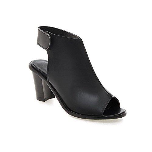 Noir 36 ASL05316 Sandales Femme Compensées BalaMasa 5 Noir pCTUgpf