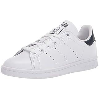 adidas Originals Women's Stan Smith, White/White/Collegiate Navy, 7