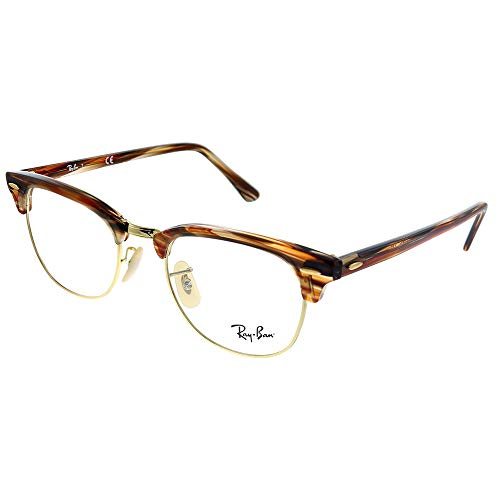 Eyeglasses Ray-Ban Optical RX 5154 5751 BROWN/BEIGE STRIPPED (Ray-bans Rx)