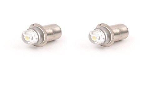 Dysmio Lighting - 4.5V - 6V LED Replacement Flashlight Bulb, 40 Lumen - - Petzl Bulb