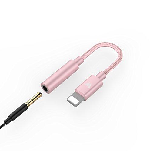 3.5mm Earphone Headphone Audio Splitter 6 Female Audio Ports (Rose) - 4