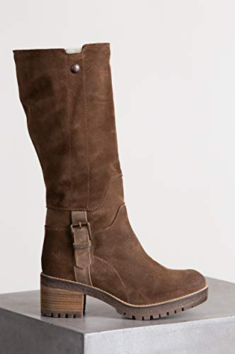 Co Wool Overland Edition amp; Major Women's Lined Bos Suede Waterproof Boots 5A6npSqYYx