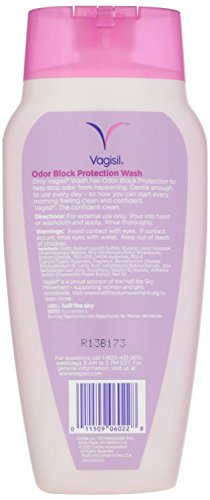 Vagisil Feminine Wash With Odor Block Protection Light And
