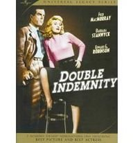 review of double indemnity A calculating wife encourages her wealthy husband to sign a double indemnity policy proposed by smitten audio distortions to report in this review.