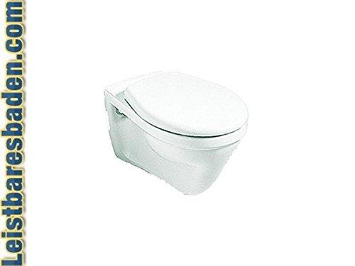 V+B Clivia Wand WC Farbe Manhattan Flachsp/üler Flachsp/ül WC