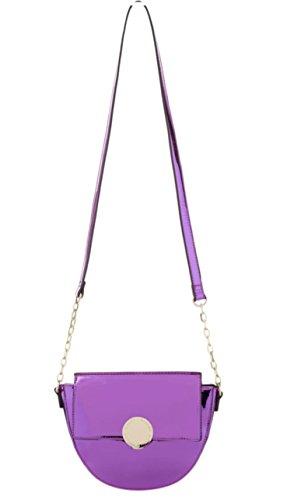 Alessia Massimo Woman Handbag Fuscia Colour