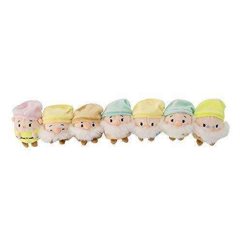 Disney ufufy (Ufufi) stuffed (mini) Snow White 7 Dwarfs set