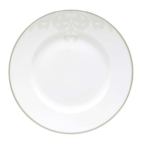 Innocence Lenox Opal Scroll - Lenox Opal Innocence Scroll Dinner Plate