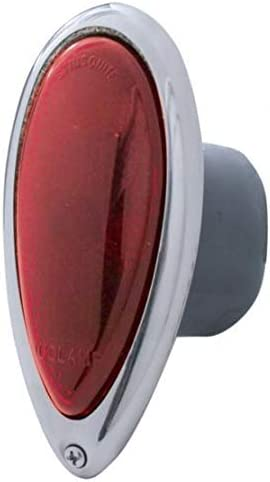 Tail Light With Stainless Steel Rim For 1938-39 Ford Car