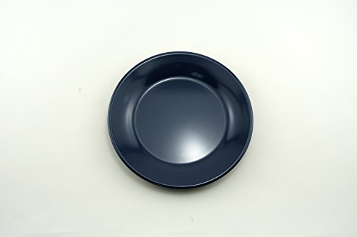 (Galleyware Blue Melamine Non-Skid Salad/Dessert Plates, Set Of 4)