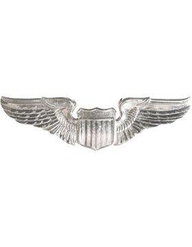 Air Force Pilot Badge - Air Force Pilot No Shine Full Size Badge (Basic)