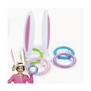Fun Express Bunny Ears Ring Toss Game