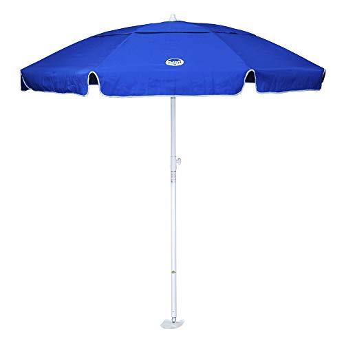 dig-git Beach Umbrella w/Integrated Anchor – Royal Blue
