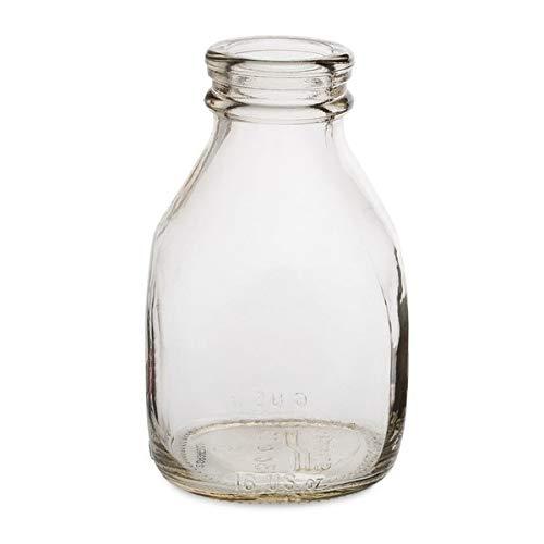16 oz Glass Milk Bottles  BerlinCase 24 by Berlin Packaging