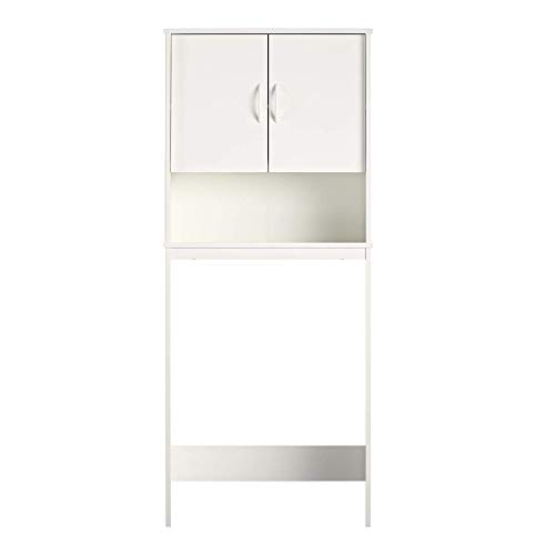 AmazonBasics Classic Bathroom Cabinet - Fits Over Most Toilets - White from AmazonBasics