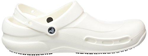 crocs Bianco Bistro Adulto Zuecos White Unisex rIr1wqx0