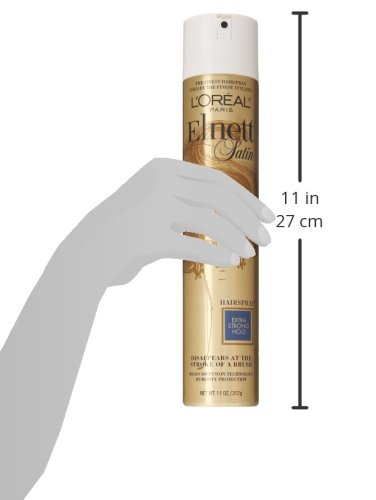 L'Oréal Paris Elnett Satin Extra Strong Hold Hairspray, 11 oz. (Packaging May Vary) by L'Oreal Paris (Image #5)