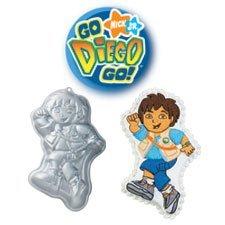 Wilton Go Diego Go Character Cake Pan