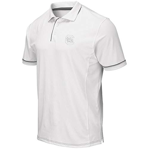 Mens South Carolina Gamecocks Iceland Polo Shirt - L