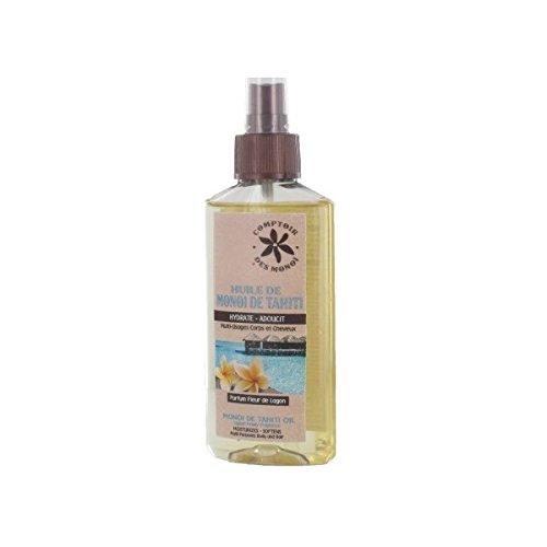 Huile de monoï de Tahiti - parfum fleurs de lagon - spray 100 ml
