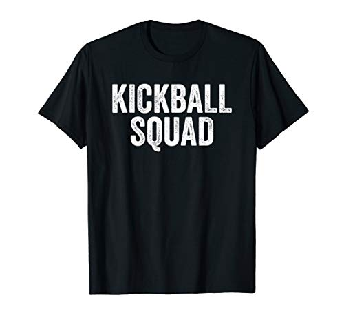 Kickball Squad Shirt Kickball Player Funny Gift Retro Game (Kickball Player)