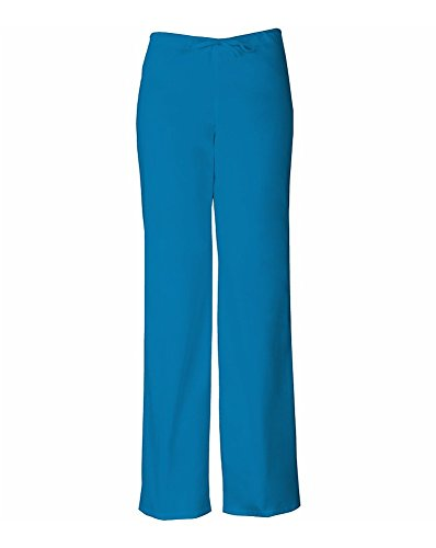 Everyday Scrubs Signature by Dickies Unisex Drawstring Pant Large Riviera Blue