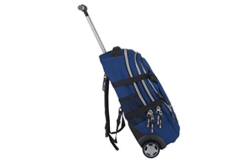 Free M279t Pro Man Trolley dg Time Bag Backpack Travel Blue With w7XqPa1