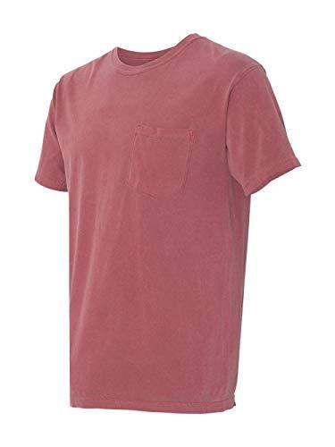 - Comfort Colors Womens 6.1 oz. Garment-Dyed Pocket T-Shirt (6030CC) -BRICK -XL