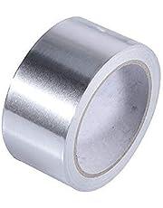 BSOCL شريط لاصق من الألومنيوم القوي المقاوم للحرارة ألومنيوم ختم الشريط العازل شديد التحمل لفة معدنية حرارية مقاومة للحريق
