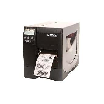 Amazon com: Zebra ZM400 Thermal Label Industrial Printer, 10 in/s