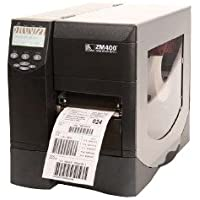 Zebra ZM400 Thermal Label Industrial Printer, 10 in/s Print Speed, 203 dpi Print Resolution, 4.09 Print Width, 110/220V AC