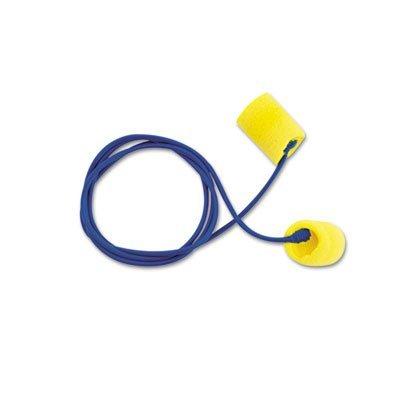 Aearo 311-1101 3M TEKK E-A-R Classic Yellow Corded Earplugs,