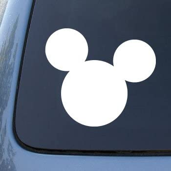 amazoncom mickey mouse ears vinyl car decal sticker