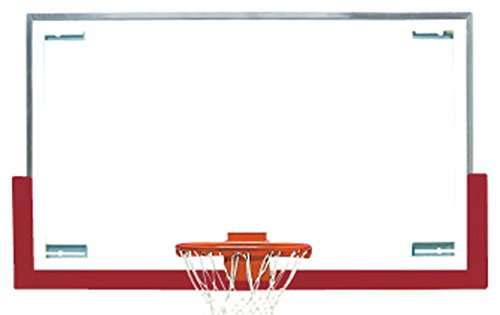 Bison , Inc。Duraskin Backboard安全パッドの長方形Backboards、Cardinal、72 cm B0762QFRZL