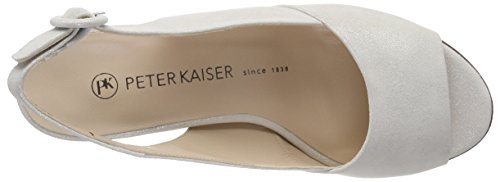 White Women's Heels Peter Weiss 457 Open Caty Star Kaiser Toe x45qUvwYq