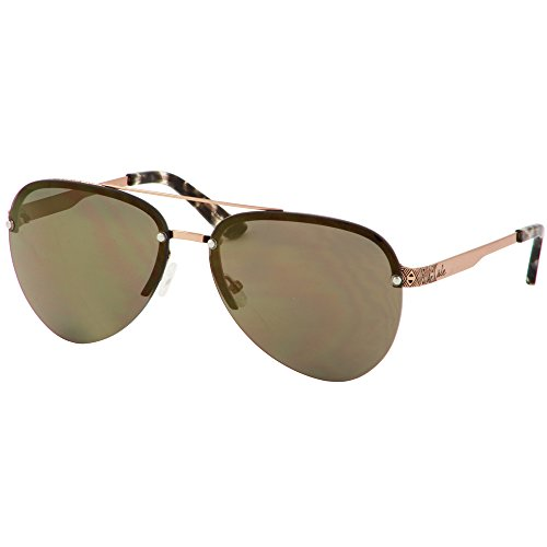 ále by Alessandra Ambrosio Sunglasses for Women Rose Gold Metal Aviator Sunglasses - Ambrosio Sunglasses Aviator Alessandra
