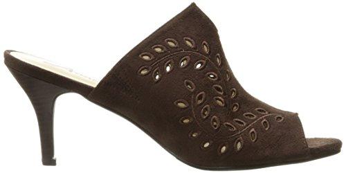 Annie Scarpe Da Donna Lizzie Slide Sandalo Cioccolato
