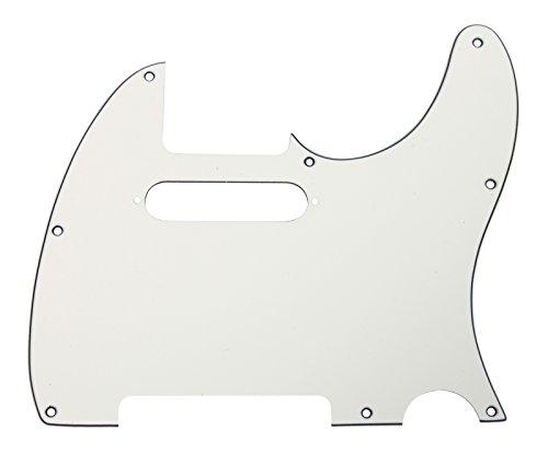 - 920D CS Parchment 3 Ply Strat Cut Pickguard for Fender Tele CNC Precision Cut
