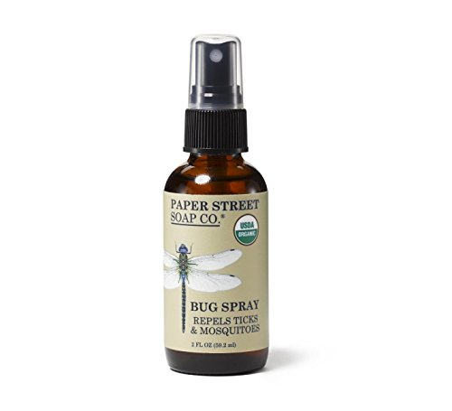 Neem Bug Free Repellent - Paper Street Soap Co. Certified Organic Insect Repellent (Repels Ticks & Mosquitoes)