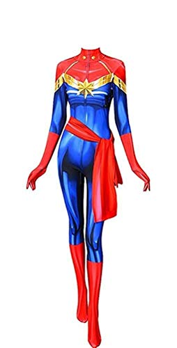 CosplayLife Ms. Marvel Cosplay Costume (Large) ()