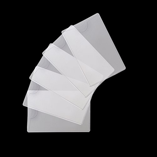 5pcs Social Security Card Protector Also Fit Hunting License, Fsc, Isurance Card