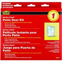 M-D Building Products 04283 84-Inch by 110-Inch Shrink and Seal Window Kit for Patio Door
