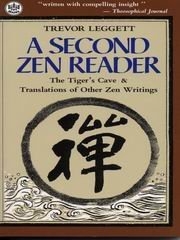 (A Second Zen Reader: The Tiger's Cave & Translations of Other Zen Writings (Tut Books))