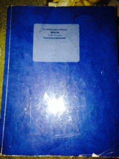The Mathematics of Money - Rutgers University Edition
