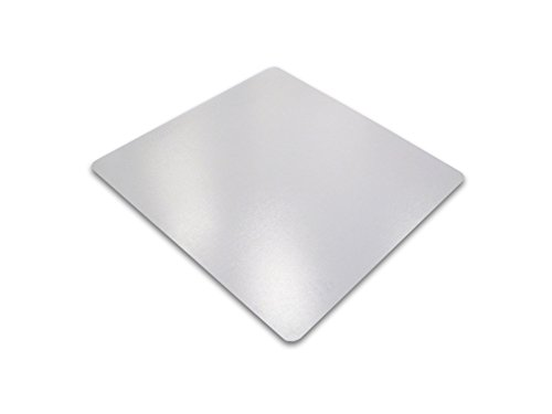 Cleartex Ultimat Chair Mat, Clear Polycarbonate, For Hard Floors, Square, 48