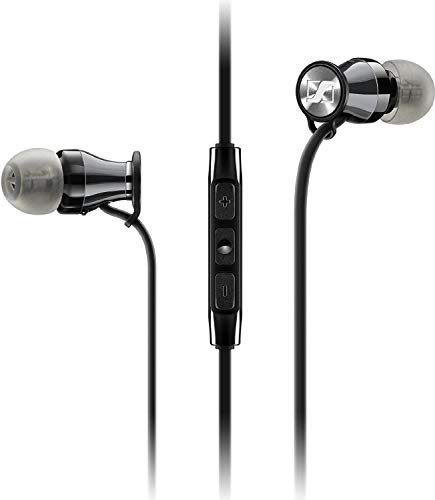 Sennheiser M2 IEG (Galaxy/Android) in-Ear Canal Headset, Black Chrome
