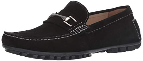 Bacco Bucci Men's Arcuri Driving Style Loafer Black 11 D US
